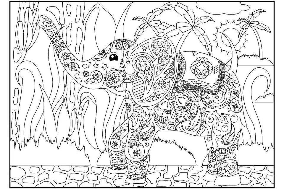 - Elephant Coloring Pages: 12 Free & Fun Printable Elephant Coloring Pages  For Kids & Adults Printables 30Seconds Mom