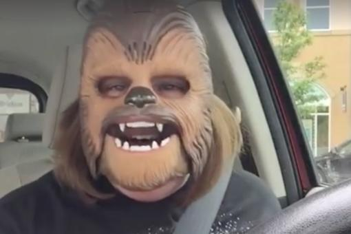 10 Life-Affirming Things That We Can Learn From Candace Payne, the Happy Chewbacca Mask Mom!