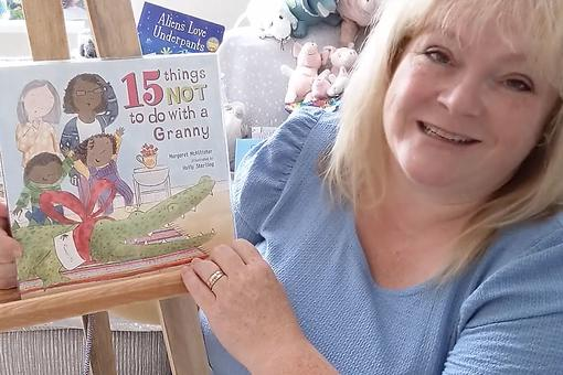 "Bring Grandma to This Virtual Story Time: The Story Lady Reads ""15 Things Not to Do With a Granny"" by M. I. McAllister"