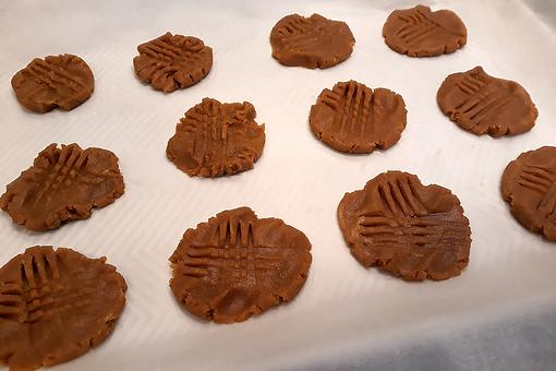 2-Ingredient No-Bake Almond Butter Cookies Recipe (No Refined Sugar, Eggs, Gluten-free & Dairy-free)