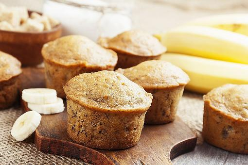 2-Ingredient Banana Muffins Recipe: Bite Into a Moist Banana Muffin in About 20 Minutes