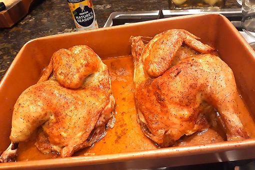 3-Ingredient Roasted Chicken Recipe: Why Morton Is Always Invited to Baked Chicken Night