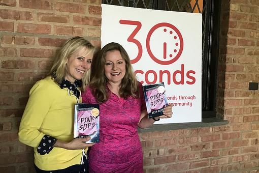 "#30Seconds Book Club: First Up Is ""Pink Slips"" By Beth Aldrich!"