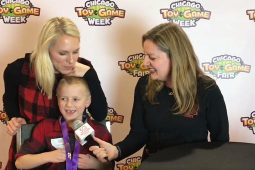 #30Seconds Live: Chicago Toy & Game Fair (ChiTAG) With Cheryl Leahy & Young Inventors Challenge Participant, Bryson!