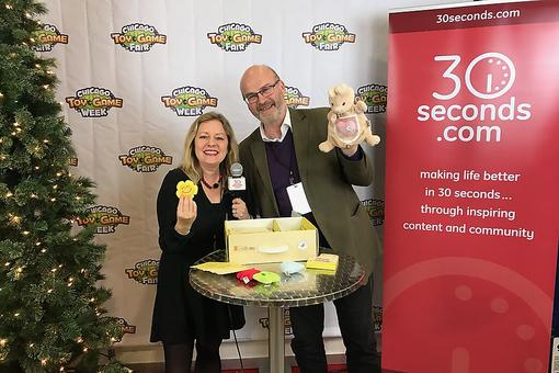 #30Seconds Live: Chicago Toy & Game Fair (ChiTAG) With David From Skylark Learning, Creators of My First Emotions!