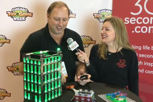 #30Seconds Live: Chicago Toy & Game Fair (ChiTAG) With E-Blox Co-founder Jim Seymour!