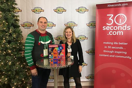 Magformers Is the Magnetic Construction Set for the Holiday Season: Watch How It Works at the Chicago Toy & Game Fair (ChiTAG)!