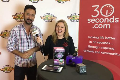 #30Seconds Live: Chicago Toy & Game Fair (ChiTAG) With Jeremy Kenisky From MergeVR!