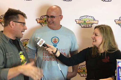 #30Seconds Live: Chicago Toy & Game Fair With Game Inventors David L. Hoyt & Jeff Knurek!