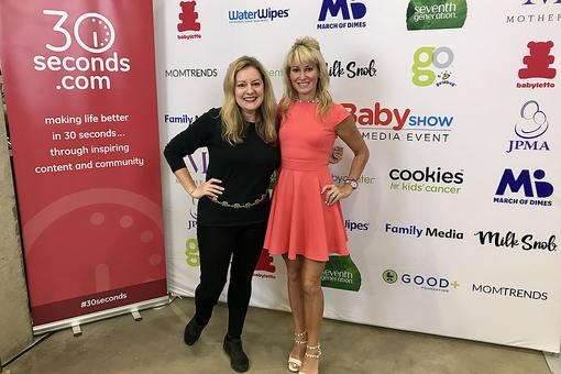 #30Seconds Live: Chicago Baby Show Ambassador & GIT Mom Founder Eirene Heidelberger Tells Moms to Speak Up!