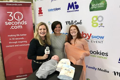 #30Seconds Live: Hoodini Reveals New Escape-Proof Swaddle for Baby (Yes, Really!)