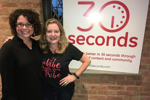 30Seconds Live: Multi-Talented Author, Educator, Community Builder Ann Marie Gardinier Halstead!