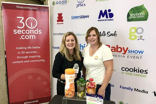 #30Seconds Live: Quality Ingredients, Mindfully Made Food for Baby By Happy Family Organics