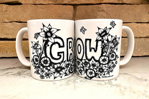 30Seconds' New Product Line Designed By My Identical Twin Artist Daughters Will Inspire You to Dream, Grow, Exhale & Be Grateful