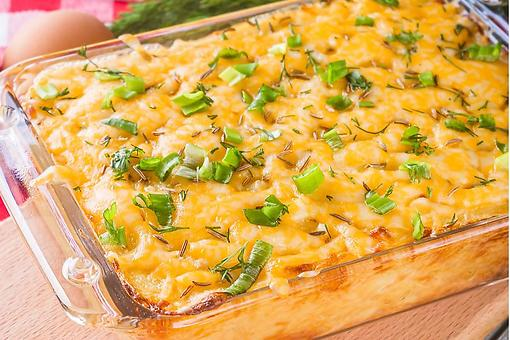 4-Ingredient Hash Brown Potato Casserole Recipe: This Hash Brown Casserole Recipe Is a No-Brainer