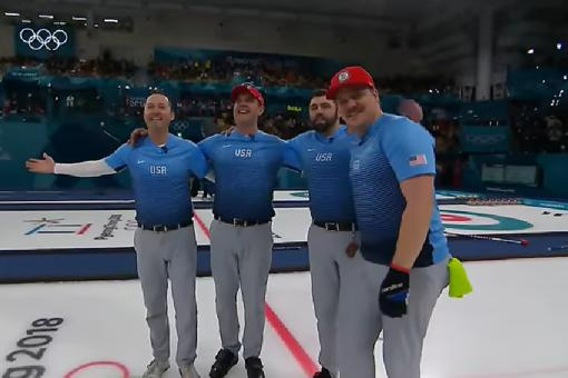 U.S. Men's Curling Team Go From Misfits to Olympic Champions