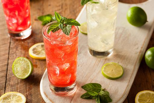 Abstaining From Alcohol? How to Make a Watermelon & Mint Mocktail!
