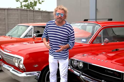 All-Star Lineup for Sammy Hagar's 2nd Annual High Tide Beach Party & Car Show in Huntington Beach, California