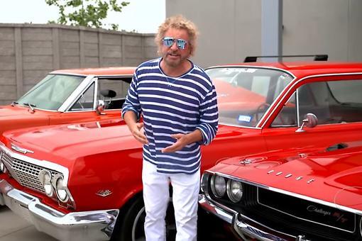 All-Star Lineup for Sammy Hagar's 2nd Annual High Tide Beach Party & Car Show in Huntington Beach, California