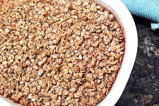 Amish Baked Oatmeal Recipe: Brown Sugar, Cinnamon & Vanilla Baked Oatmeal Recipe Makes Your House Smell Heavenly