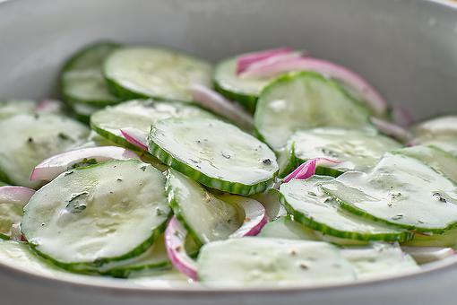 Amish Cucumber Salad Recipe: This Creamy 4-Ingredient Cucumber Salad Recipe Is Authentic Amish
