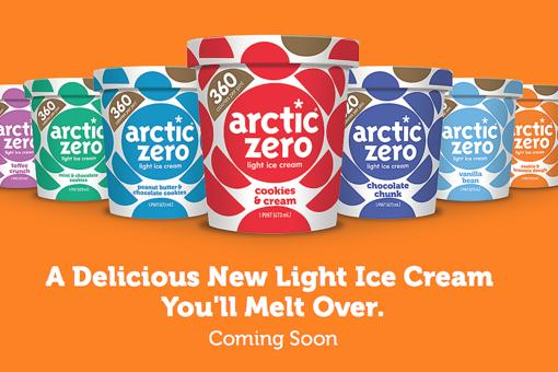 Arctic Zero Is an Ice Cream to Melt Over: New Light Varieties in Spring 2018!