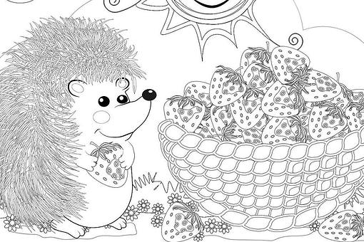 Animal Coloring Pages for Kids: Free Printable Coloring Pages of Animals