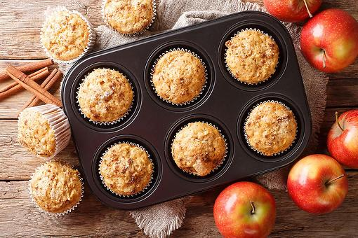 Moist Apple Pie Spice Muffins Recipe: An Apple (Muffin) a Day Keeps the Hangry Away
