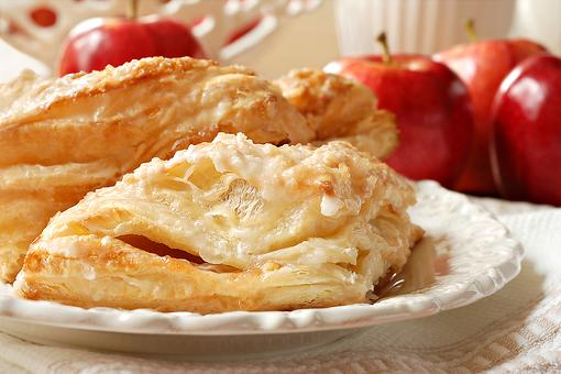 Easy Apple Turnovers Recipe: Puff Pastry Apple Pie Cinnamon Turnovers Melt in Your Mouth