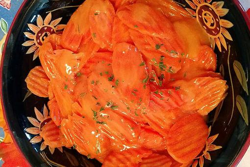 Second Place Winner! ​Aunt J's Orange Ginger Carrots: A Vegetable Side Dish Loved By All!