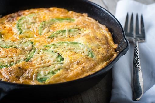 This Avocado & Cheese Frittata Recipe Is a Whole Lotta Yum in One Pan!