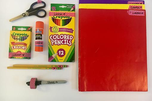 Back-to-School Hack: Don't Waste Time Labeling School Supplies! Do This Instead!