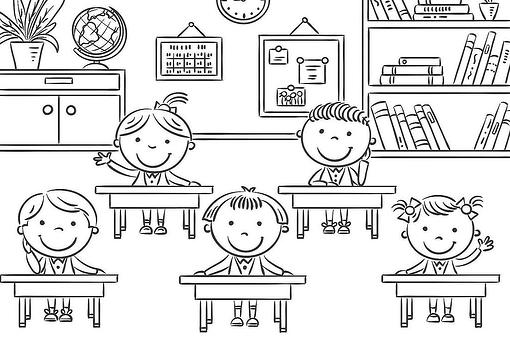 Back-to-School Coloring Pages: Fun & Free School-Themed Coloring Pages for Kids