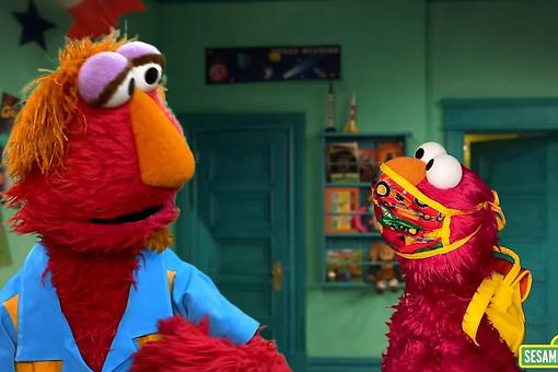 Back-to-School During Coronavirus With Sesame Street: Elmo & Oscar Teach Kids Healthy Habits for Staying Safe During the Pandemic