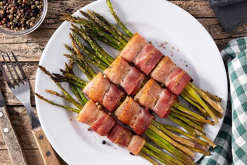 Bacon-Wrapped Asparagus Recipe: This Asparagus Bundles Recipe Is Simple Eating Done Right