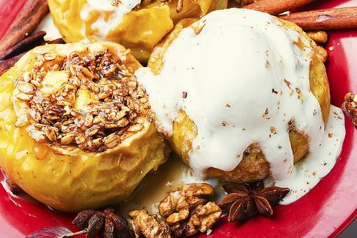 Oatmeal Stuffed Apples Recipes: Baked Oatmeal Lovers Will Go Nuts Over This Amazing Oatmeal Stuffed Breakfast Apples Recipe