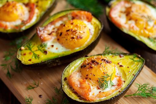 This Baked Smoked Salmon & Eggs in Avocados Recipe Will Give You All the Feels