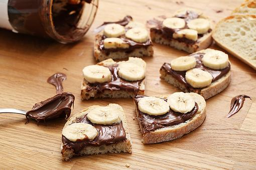 Banana & Nutella Snack: A Healthy Option That May Lower Blood Pressure & More!