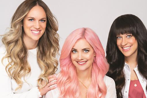 Beachwaver Co.: 3 Sisters, a Game-Changing Styling Tool & a Beachy New Hair-Care Line