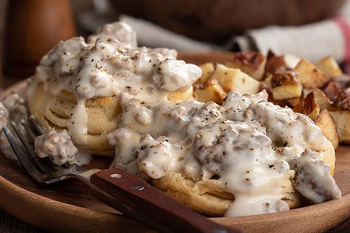 Biscuits & Gravy Recipe: A Southern Sausage Gravy Recipe for Those Fluffy Biscuits