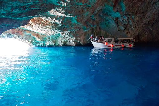 Blue Grotto in Montenegro: Take the Plunge Into the Glowing Waters of the Blue Caves