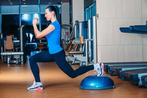 Bosu Ball Exercises: 4 Areas of Your Body That Benefit From Bosu Ball Lunges & How to Find Your Balance!