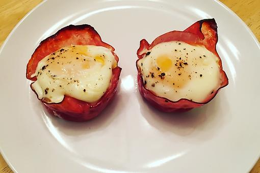 Ham & Cheese Egg Cups Are Breakfast or Brunch in One Bite