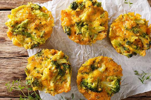 Broccoli Cheddar Egg Cups Recipe: 4-Ingredient Broccoli Cheese Egg Cups Are a Tasty Lunch, Brunch, Breakfast or Snack