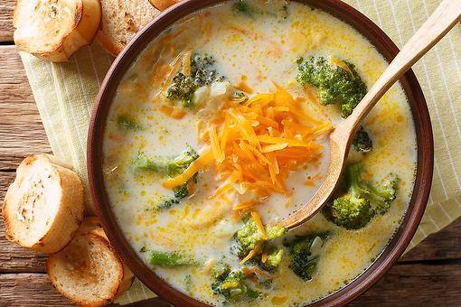 Potato Broccoli Cheese Soup Recipe: Amazingly Delicious Creamy Slow-cooker Broccoli Potato Cheese Soup Recipe