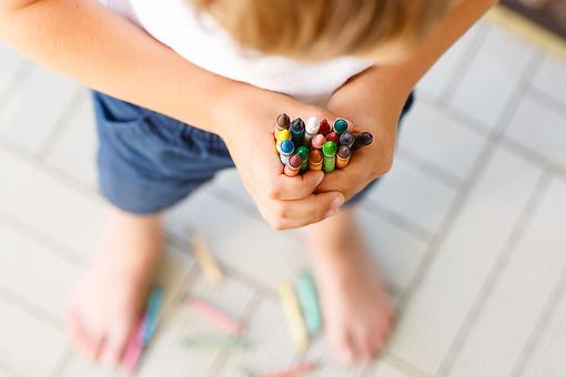 Broken Crayons Provide Pencil Grasp Practice for Kids (Who Knew?)