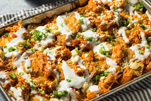 Crazy Good Buffalo Chicken Nachos Recipe: The Perfect Tailgating Recipe You Won't Be Able to Stop Eating