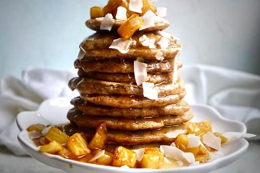Caramelized Pineapple Pancakes Recipe: A Sweet Way to Dress Up Those Basic Fluffy Pancakes