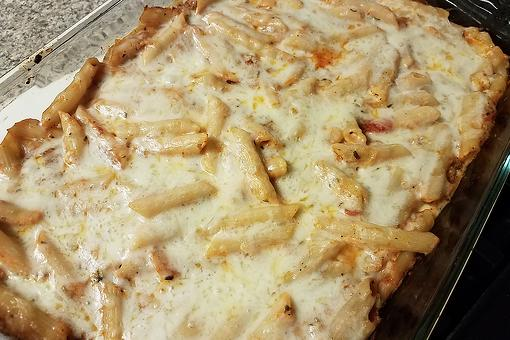 Easy Penne Casserole Recipe: This Cheesy Alfredo Penne Pasta Bake Recipe Has 3 Kinds of Cheese