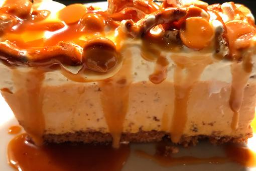 Chef Adrianne Calvo's Pumpkin Spice Bars With Butterscotch & Salted Pretzel Are Outrageous
